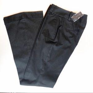 NWT The Limited charcoal/black dress pants